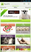 Screenshot of PlyceFID - cartes de fidélité