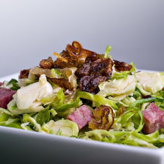 Brussels Sprouts Salad With Soppressata Vinaigrette