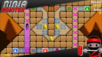 Screenshot of Ninja Painter Puzzle