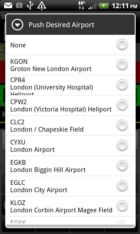 VFR Nav+  World GPS Air NAV - screenshot