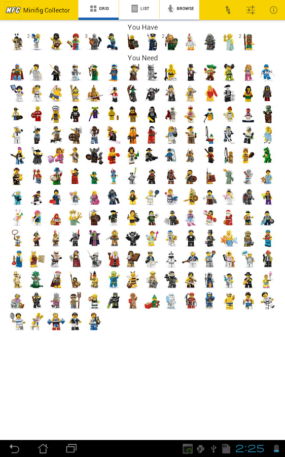 Minifig Collector for LEGO® - screenshot
