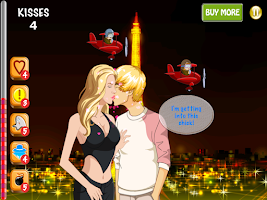 Screenshot of One Direction Kisses All-Stars