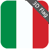 Italy Flag - High Quality 3D
