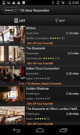 TablePouncer - UK Dining Deals