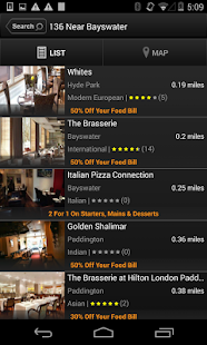 TablePouncer - UK Dining Deals- screenshot thumbnail
