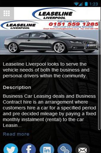Leaseline Liverpool