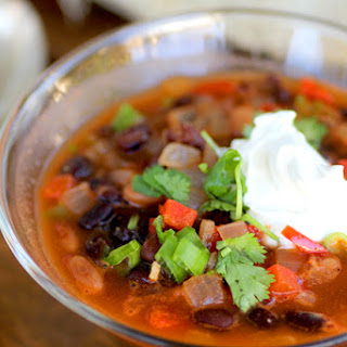 Hearty Black and Tan Bean Soup