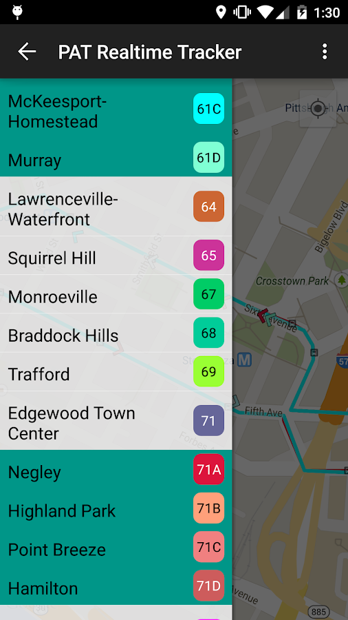 Pat Realtime Tracker Android Apps On Google Play