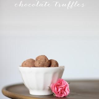 Chocolate Wine Truffles.