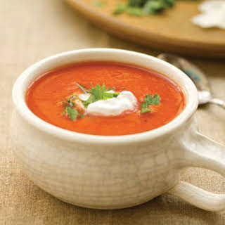 Dressed-up Tomato Soup.