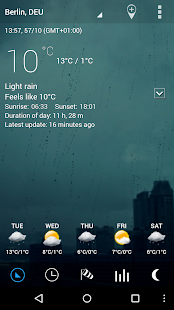 Sense Flip Clock & Weather - screenshot thumbnail