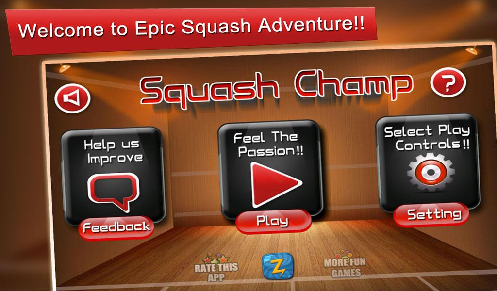 Squash Champ: Sports Challenge- screenshot