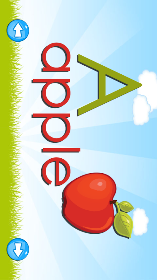 Kids Alphabet Game Lite- screenshot