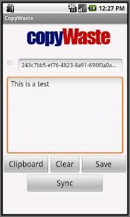 Copywaste - Text Sharing- screenshot thumbnail