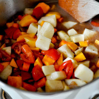 Moroccan Vegetable Stew.