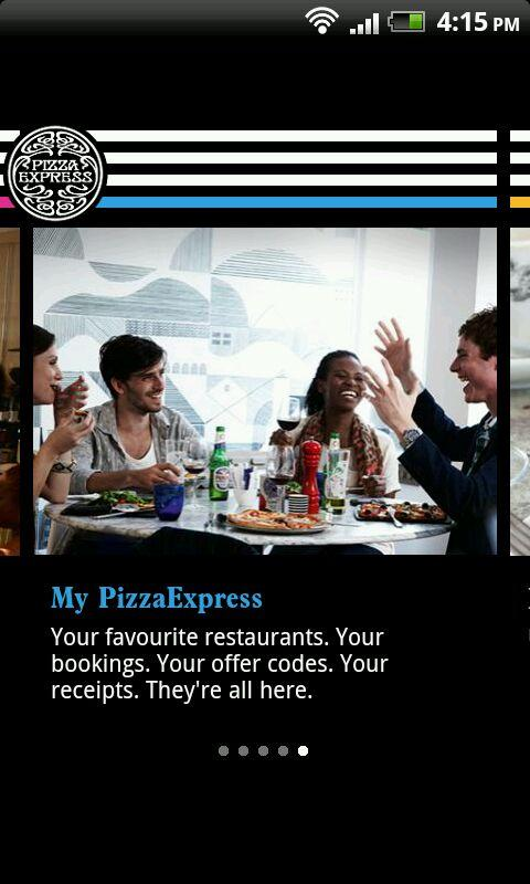 PizzaExpress - screenshot