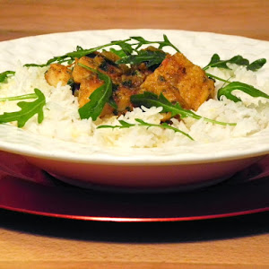 Catfish Curry With Basmati Rice