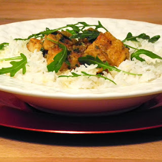 Catfish Curry With Basmati Rice.