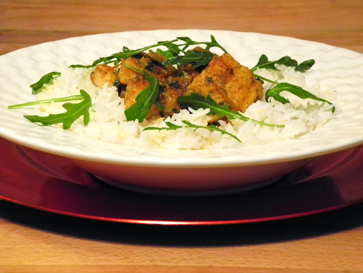 Catfish Curry with Basmati Rice Recipe