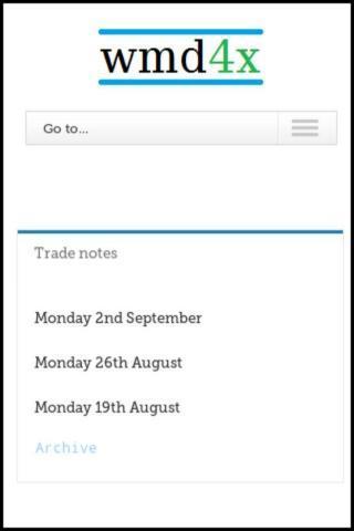 Trade Notes