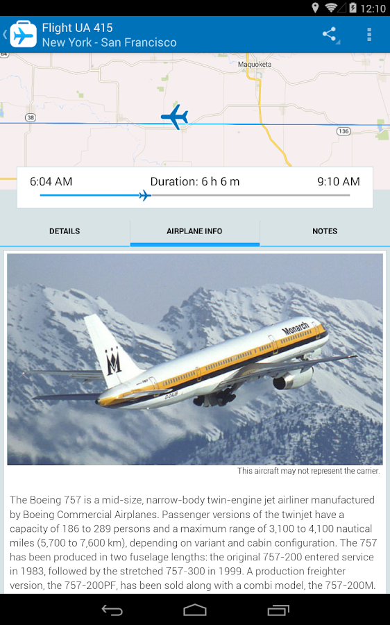 Flight Companion - Free- screenshot