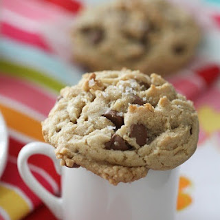 Brown Butter and Fleur de Sel Chocolate Chip Cookies.