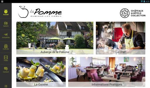 【免費旅遊App】Auberge de la Pomme-APP點子