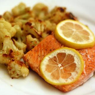 Salmon with Roasted Cauliflower