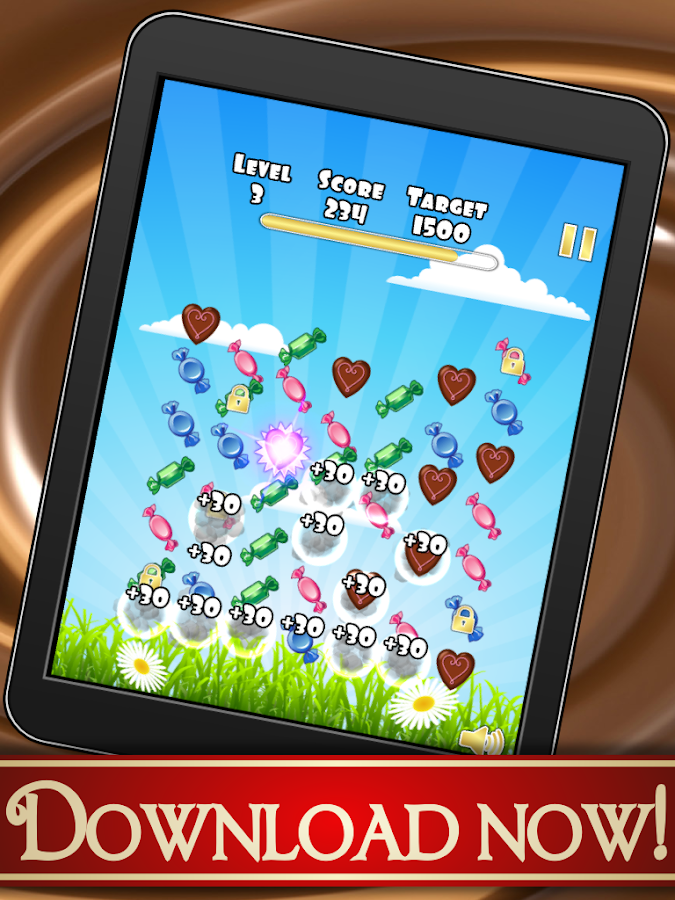 Chocolate Game Dessert Crazy- screenshot