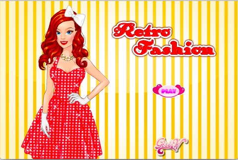 Retro Fashion Dress Up
