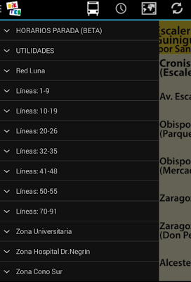 Schedule Guaguas(Buses) LPGC - screenshot