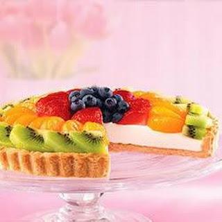 Fresh Fruit Tart with Ginger Snap Crust.