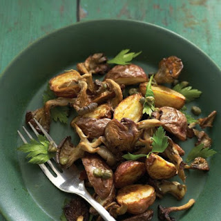 Roasted Mushroom and Potato Salad