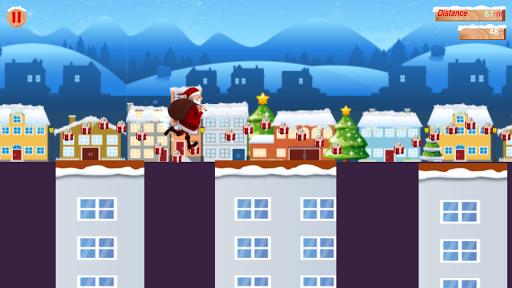 Santa Rooftop Run