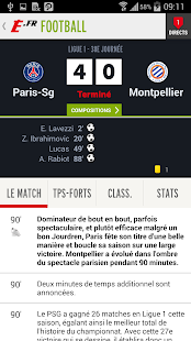 L'Equipe.fr : foot, rugby Screenshot 4