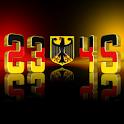 Germany Digital Clock LWP icon