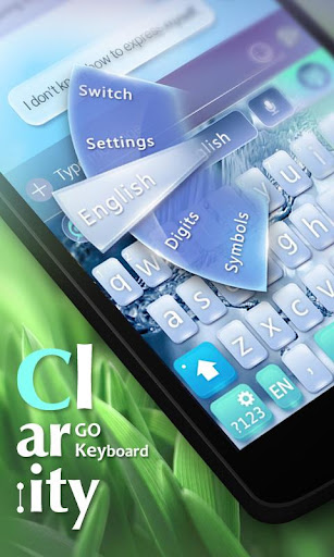 Clarity GO Keyboard Theme