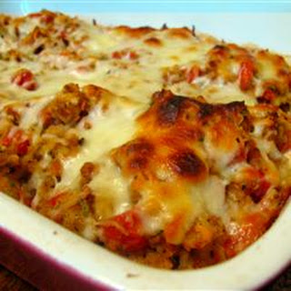 Bruschetta Chicken Bake.
