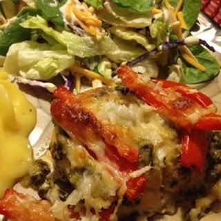 Spinach Pesto Chicken Breasts.