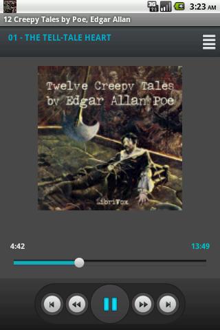 【免費音樂App】Audio Book 12 Creepy Tales Poe-APP點子