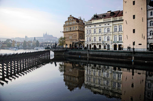 Prague-Czech-Republic - Prague, capital of the Czech Republic and a stopping point for many river cruise ships.