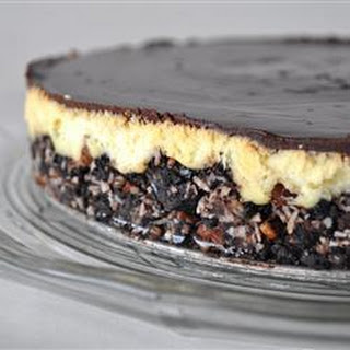 Nanaimo Bar Cheesecake.