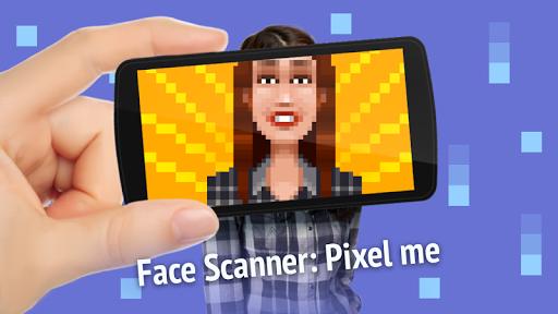 Face scanner: Pixel me