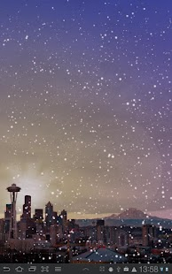 Winter Cities Live Wallpaper - screenshot thumbnail