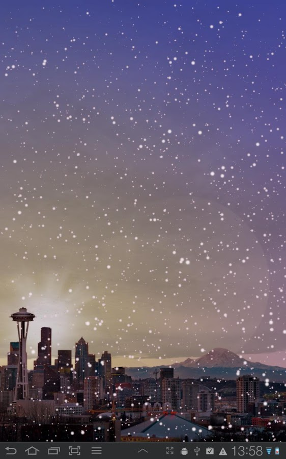 Winter Cities Live Wallpaper - screenshot