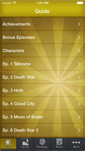Guide For Angry Birds Star War