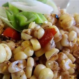 Grilled Corn Off the Cob Salad