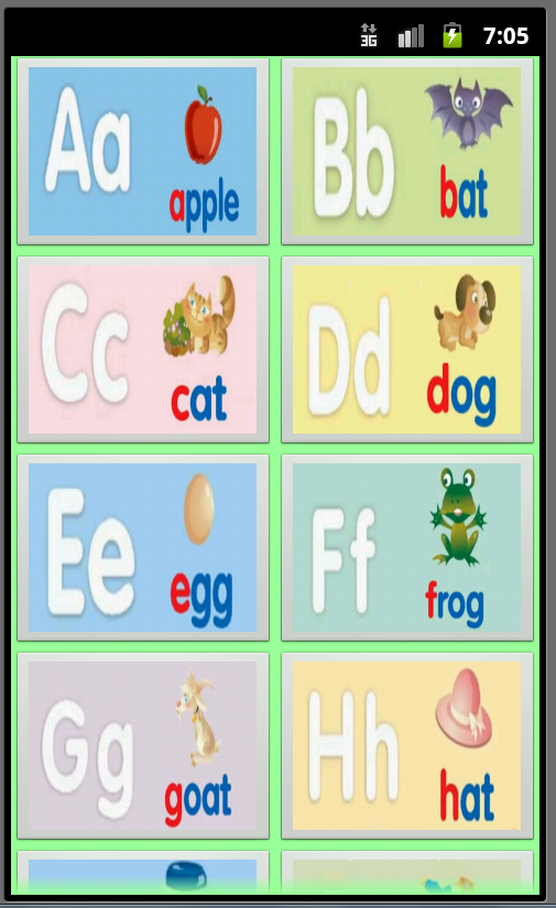 Phonics A-Z Pro - screenshot