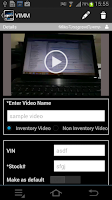 Screenshot of Video Inventory Mobile Manager