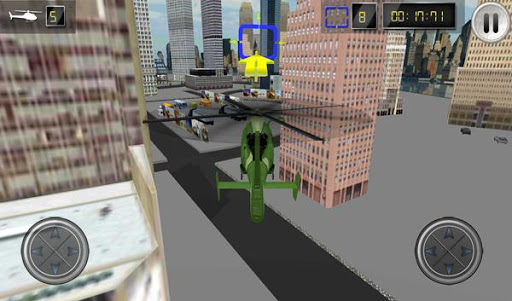直升机停车模拟器